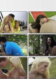 Lüks Villa Bahçesinde Grup Seks Yapıyorlar izle